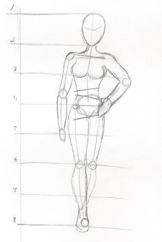 como dibujar cuerpos humanos - Buscar con Google