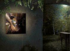 Sayo wall lighting. ibride catalogue 2010-2011 #home #design #interior #decoration #forest #furniture #lighting #animal www.ibride.fr