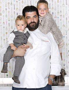 Antonio Cannavacciuolo #portraitphotography#portraitshooting#fatherandchildren#antoniocannavacciuolo