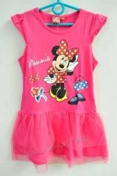 Sukienka Dziewczęca Myszka Minnie GDJ42151  _A12  (3-8)