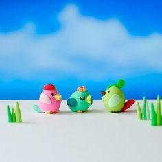 Three little birdies by {JooJoo}, via Flickr