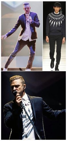 """Justin Timberlake in Neil Barrett - """"The 20/20 Experience World Tour"""", Los Angeles"""