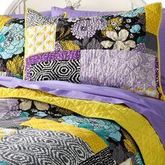 Target : Xhilaration® Patchwork Quilt - Purple : Image Zoom