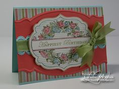 Framelits, Edgelits, embossing folders, Adorning Accents, The Everyday Enchantment paper, Pool Party, Calypso Coral & Lucky Limeade