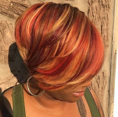 Hair Color For Black Hair, Cool Hair Color, Short Hair Cuts, Short Hair Styles, Pixie Styles, Pixie Cuts, Sassy Hair, Beautiful Hair Color, Dope Hairstyles