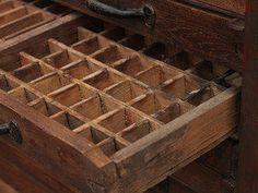 Vintage Printer Typesetting Cabinet Thumbnail