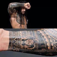 Roman's tattoos