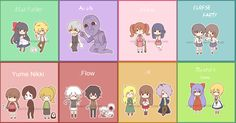 My favorites (least to greatest) are Misao, Witches House, Mad Father, Ib, and Corpse Party ♥