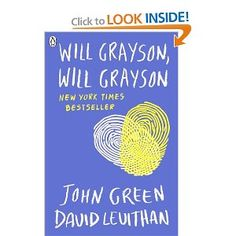 Will Grayson, Will Grayson, by John Green and David Levithan