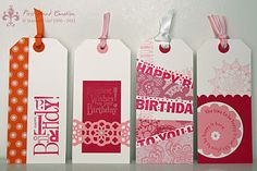 Stampin' UP! Delicate Doilies, Happiest Birthday Wishes, Builder Wheel