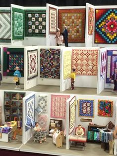 Mini quilt show