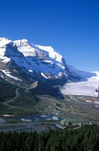 Athabasca Glacier, Columbia Ice field, Jasper, Canada and we already hiked there, amazing! Banff National Park Canada, Jasper National Park, Parc National, Jasper Canada, Jasper Ab, Oh The Places You'll Go, Places To Visit, Parcs Canada, Beautiful Vacation Spots
