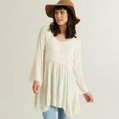 One of my favorite discoveries at WorldMarket.com: Ivory Embroidered Roxann Tunic