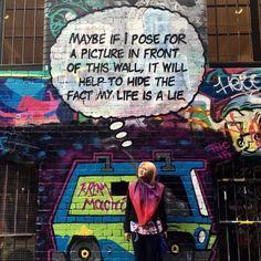 @LUSHSUX GRAFFITI's #1 ASSHOLE