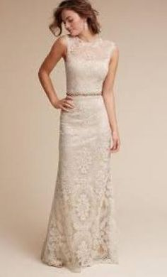 BHLDN April Gown 400 Size 8