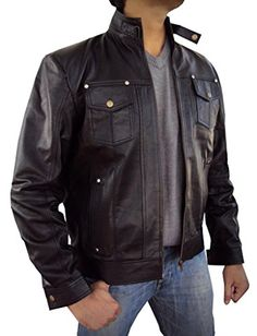 The Leather Factory Men's Lambskin Leather Biker Jacket With Short Stand Collar 2XL Black The Leather Factory http://www.amazon.com/dp/B00O8TZFC2/ref=cm_sw_r_pi_dp_Jr9tub0GR8QGA