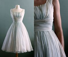 Vintage dress- reminds me of the dress Liesel wears in The Sound of Music