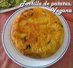 Tortilla de patatas sin huevo @@@@...http://es.pinterest.com/ligia22ga/ni-huevo-ni-leche/