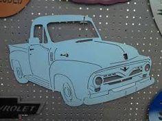 Resultado de imagem para pickup truck wall art