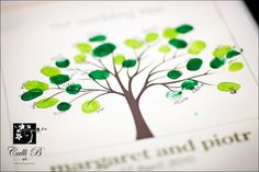 tree with fingerprint