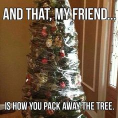 How you pack the tree