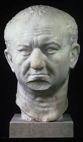 Ritratto di Tito Flavio Vespasiano,ca 60d.C. Testa 629 oggi conservata presso Ny Carlsberg Glyptotek,  Copenaghen.