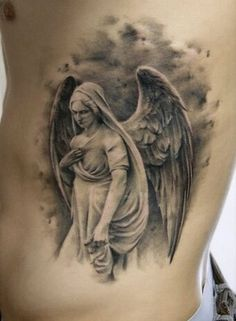 archangel gabriel tattoo quoteko beards pinterest archangel rh pinterest com angel gabriel tattoo significado angel gabriel tattoos gallery