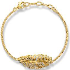 Feines goldenes Armband von Thomas Sabo ab 179,00€ ♥ Hier kaufen: http://www.stylefru.it/s14592 ♥