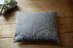 no. 10 watercolor lavender stuffed hand dyed cushion by enhabiten, $40.00