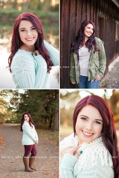 Beautiful senior pictures at a natural park at sunset in Eugene, with Oregon senior portrait photographer, Holli True.