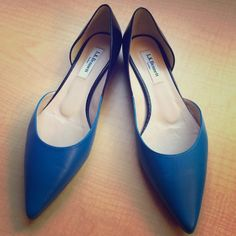 Brand-new LK Bennett flats from London! Beautiful kid-leather color-block flats. Retails for 155£, which is around 250$. L.K. Bennett Shoes Flats & Loafers