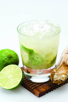 """Skinny"" Caipirinha— While Bethenny Frankel may get the lion's share of attention for her Skinny Margarita, there's other lo-cal and yummy drinks on the market that you've got to try. Here's the recipe for the fave Brazilian drink to feel like Alessandra, Adriana, and Gisele right now:    2 oz Leblon Cachaca  1/2 Lime Juice  Agave Nectar to taste  Combine all ingredients in a cocktail shaker with ice and shake vigorously."