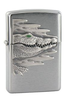 เก๋ไก๋ Crocodile, Bubbler Pipe, Cigar Cases, Zippo Lighter, Casket, Art Object, Cigars, Decorative Boxes, Creatures
