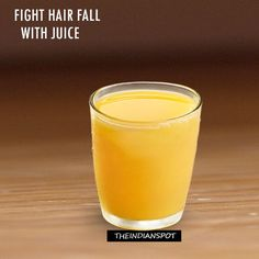 Fight hair fall with juice recipes