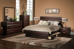 Bedroom Furniture-The Tango Collection-Tango Queen Bed