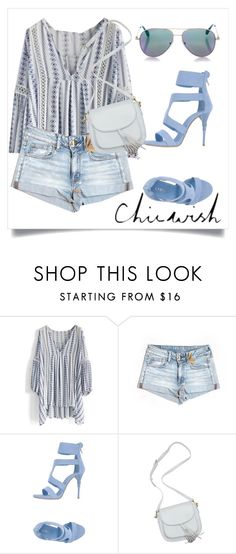 """""""CHICWISH"""" by milovanovic ❤ liked on Polyvore featuring Chicwish, American Eagle Outfitters, Le Silla, Cutler and Gross and chicwish"""
