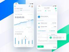 Fiskl mobile application for business