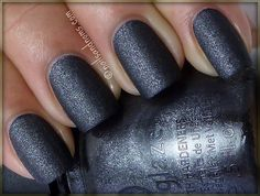 China Glaze Hunger Games Collection Swatches..  Stone Cold ---Amazing color <3