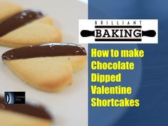 A Baking Bites episode from The Brilliant Baking Show  In this Baking Bites, we show you how to make the best home-made Chocolate Dipped Valentine Shortcake biscuits, perfect for Valentines or any time of year.  Recipe 100g unsalted butter 125g caster sugar 1 medium size egg 1 tsp vanilla bean paste or vanilla extract 275g plain flour 150g dark, milk or white chocolate  pre-heat oven to 190c / 170c fan / 375F / Gas mark 5  Email us and send in your question for the show to…