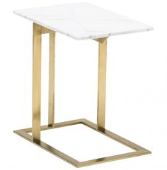 Dell Side Table, Gold