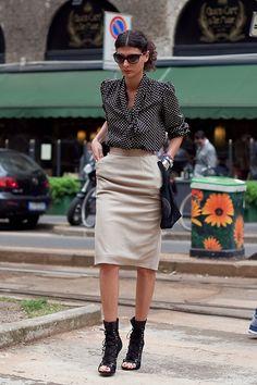 Giovanna Battaglia ♡ #Giovannabattaglia #Streetstyle #lookbook #fashion #chic #style #Italian #voguejapan