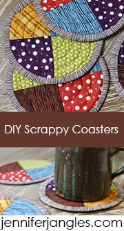 Cute coasters to make, DIY.