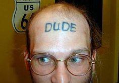 Dude...