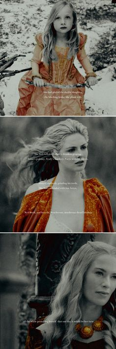 Cersei Lannister: I have waited half my life. #got #asoiaf