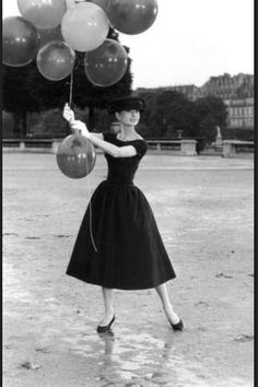 I also draw fashion inspiration from Audrey (and other old film actresses) she's one classy gal. maybe you could pick a few people whose style you love and try and replicate some of that style into your outfits?