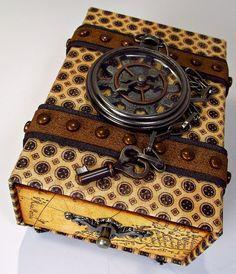 <3 the watch bob! Treasure Box Mini by The Gentleman Crafter