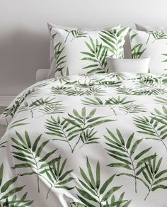Bay Isle Home Renforcé-Bettwäsche Duenweg Bed Spreads, Duvet Cover Sets, Comforters, Pillow Cases, Blanket, Green, Furniture, Color, Design