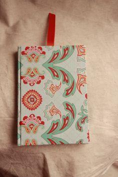 Caderno 1 forrado a tecido