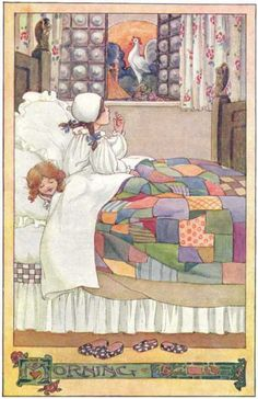Anne Anderson. Morning - The Rosie-Posie Book, 1911