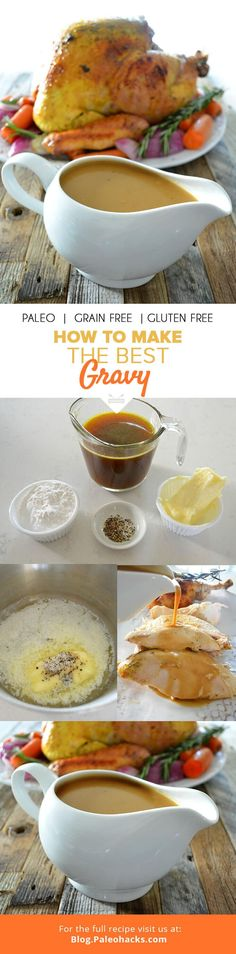 No holiday table is complete without a rich, savory gravy. All you need is five ingredients to whip up the best gravy in minutes. For the full recipe, visit us here: http://paleo.co/howtogravy